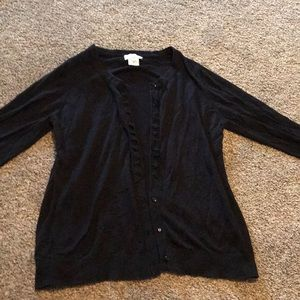 Maternity button down sweater! Medium and large